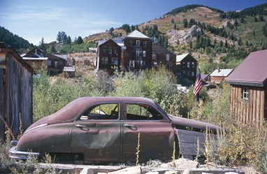 Unlike many western ghost towns, Silver City, Idaho, never quite died once the mining booms ended. Today a handful of residents persist amidst various degrees of preservation and decay.