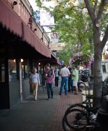 Billings Art Walk on Montana Avenue.