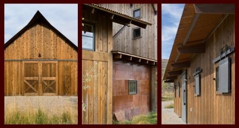 Classic barn style, reinterpreted.