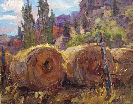 """""""Bales and Blue"""" 