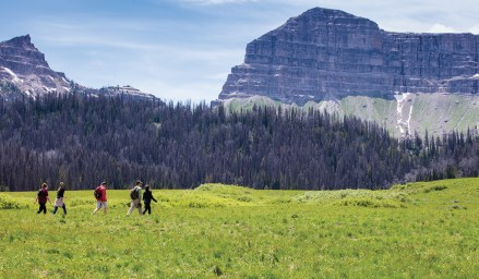Guided hikes are offered among the many activities at the ranch.