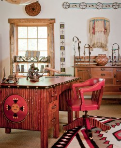 An expert on Thomas Molesworth furniture, Winchell has rare representations of original Shoshone furniture Company Collections.