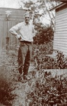 Photograph of Gollings attributed to being taken by Mary Gordon Collins Kruidenier in the summer of 1926 at his home. Photo courtesy of Meadowlark Gallery
