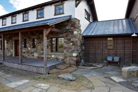 The Meredith Ranch home, built by Nathan Sieler Construction, was featured on HGTV's Living Big Sky series.