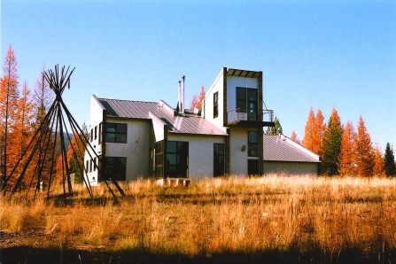 Molly Shepherd designed her North Fork home with fire prevention in mind, including siting, materials and landscaping.