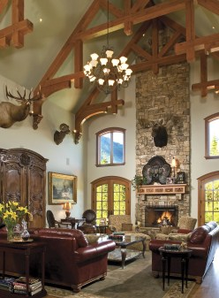 Creating their own brand of Rocky Mountain design, Landmark Builders prevails with personalized projects that speak to the owners' dreams.