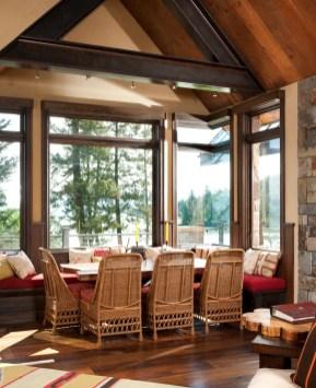 45-degree glass seams on the windows display the true craftsmanship of Landmark Builders.