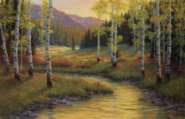 "Autumn's Colors in the Beartooths Pastel | 26"" x 40"""
