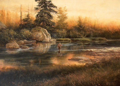 """Mystic River""   oil on board   16 x 22 inches"