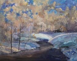 """Heaven's Breath""   Oil on Canvas   24"" x 30"""