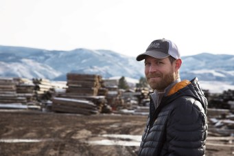 Mike Halverson owns and operates Montana Reclaimed Lumber (MRL).