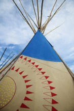 "The Fair has been called the ""teepee capital of the world."""