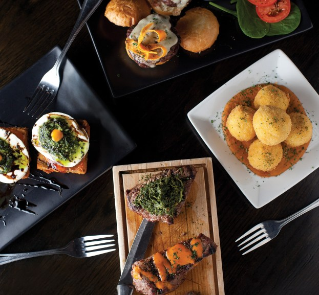 Chef Mark Bohnneman rotates menu offerings seasonally, ebbing from 15 percent local ingredients in winter months and flowing to almost half the menu peppered with locally sourced product in the summer.