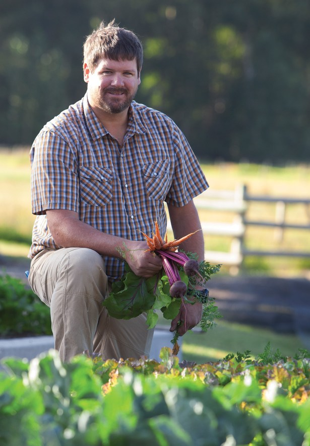 Chef Mark Bohnneman is one of Over The Tapas' three owners. His ranch to restaurant philosophy keeps him in the field managing crop rotation and overseeing meat processing as much as in the kitchen.