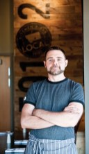 Chef/owner Travis Stimpson, who grew up on a ranch near Lodge Grass, Montana, sources all of the beef on the menu from his family's ranch.