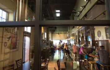 Located off Bozeman's historic Main Street, the atmosphere inside Bozeman Spirits is warm and inviting. By law, microdistilleries can serve up to 2 ounces per day between 10 a.m. and 8 p.m. Patrons may also purchase up to 1.75 liters of spirits to take with them.
