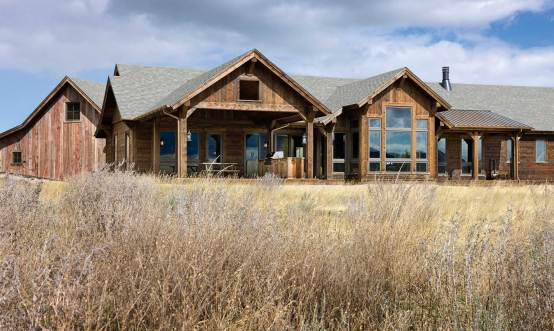 With the home's expansive windows and south-facing orientation, passive solar gain is maximized — as are views of the stunning country to the south, east, and west of Red Lodge.