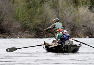 Based in Jackson, Wyoming, and Victor, Idaho, the Western Rivers Guide School, operated by World- Cast Anglers, regularly conducts its classes on the Snake River, the South Fork of the Snake, the Henry's Fork, and the Teton River. Photo by Corey Kruitbosch