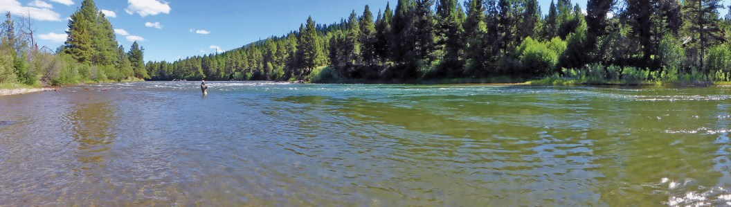 The Muchmore Hole on the author's family river, the Big Blackfoot. Photo courtesy John N. Maclean