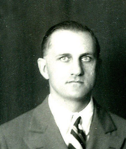 George Ottinger Romney (December 12, 1892-May 3, 1973), Montana State College head basketball, football, track and baseball coach, 1922-28. Photo courtesy of Montana State University Library