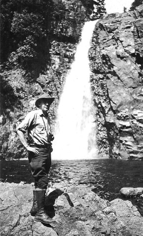 Environmental activist Howard Zahniser [Feb. 25, 1906–May 5, 1964] didn't live to see the Wilderness Act signed into law, but his efforts eventually led to the protection of over 100 million acres of wild lands in the U.S. Photo courtesy of From Wildnerness Forever