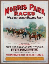 The Morris Park Race Course in New York hosted the Belmont Stakes until 1905.