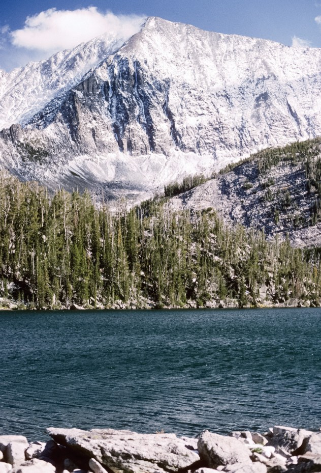 The Crazy Mountains and its trout-filled tarns are both forbidding and beautiful after an early fall snowstorm.