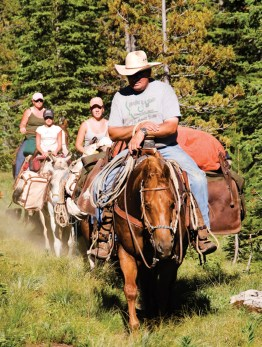 Experience Yellowstone's Backcountry on Horseback | Photo by Ben Pierce