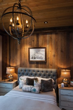 """""""We really strived to make this whole house very livable. There was nothing that was over-the-top showy,"""" Erica Jennings, interior designer, said. """"It was designed so they could feel like flopping down after a day of skiing."""""""