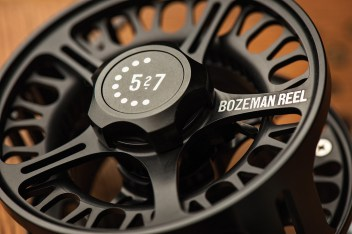 The RS Series reel is manufactured at Bozeman Reel in the heart of fly fishing country.