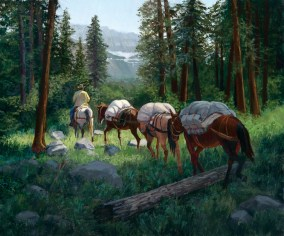 """""""Packing into Glacier Park"""" 
