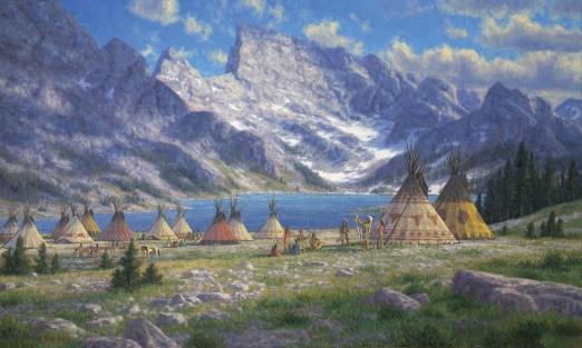 "Randy Van Beek   ""Tukudeka, Shoshone Hunters of the Wind River Range"""