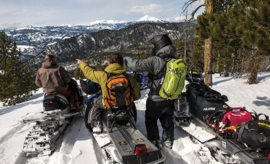 The trail offers plenty of great mountain vistas including peaks of the Madison and Gallatin ranges and, on a clear day, it's possible to see Wyoming's Tetons.