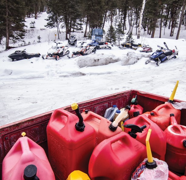Riders can cache fuel at the 320 Ranch or the Taylor Fork parking lot.