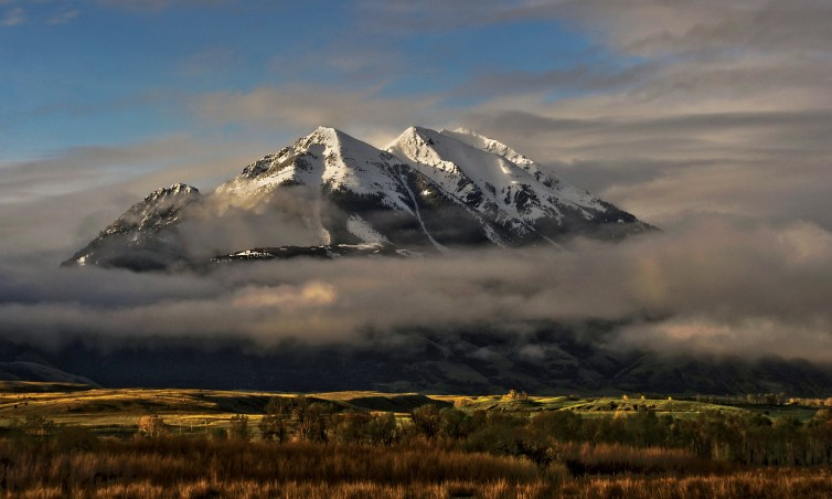 Overlooking Paradise Valley, Emigrant Peak rises to 10,915 feet. Photo by Erik Petersen