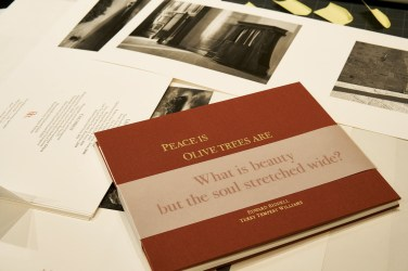 Ed's letterpress books on Italy, printed in a limited edition of 50 copies.