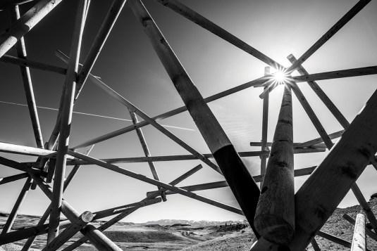 """Satellite No. 5: Pioneer"" (in progress) by Stephen Talasnik."
