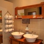 Double basin in bedroom 1's bathroom