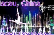 """Conheça os bastidores do espetáculo – """"The House of Dancing Water"""" e visita ao  """"Hard Rock Cafe"""" na City of Dreams em Macau"""