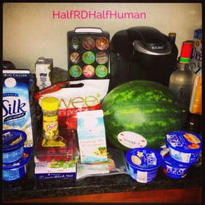 My bi-weekly Grocery Store excursion