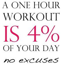 one hour workout