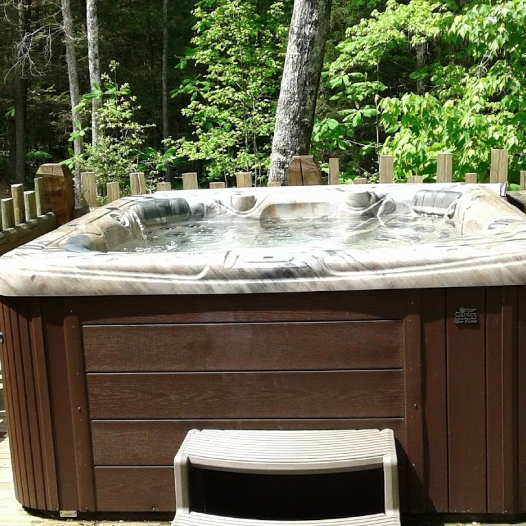 Very large hot tub