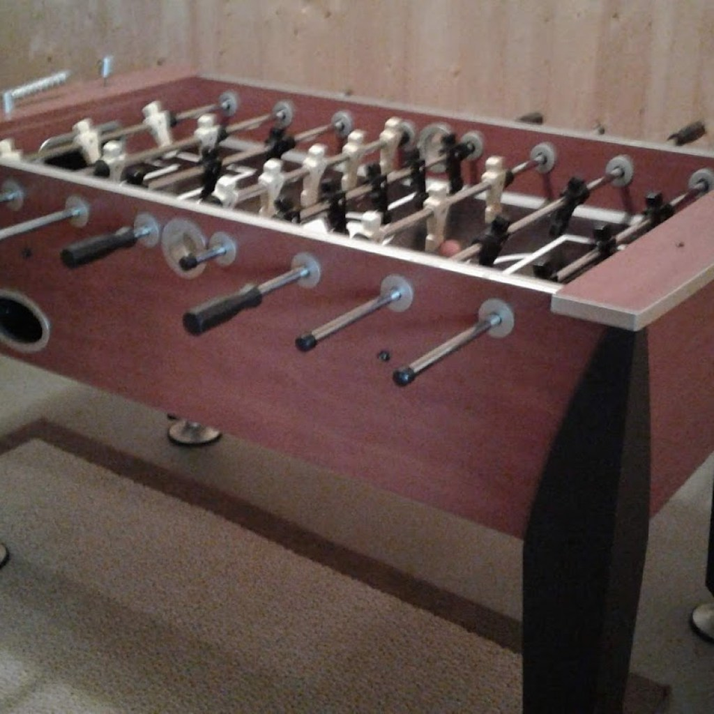Downstairs Game—Foosball