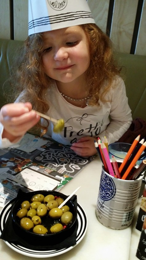 olives at pizza express