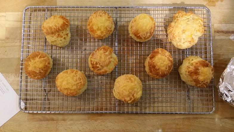 comte cheese scones