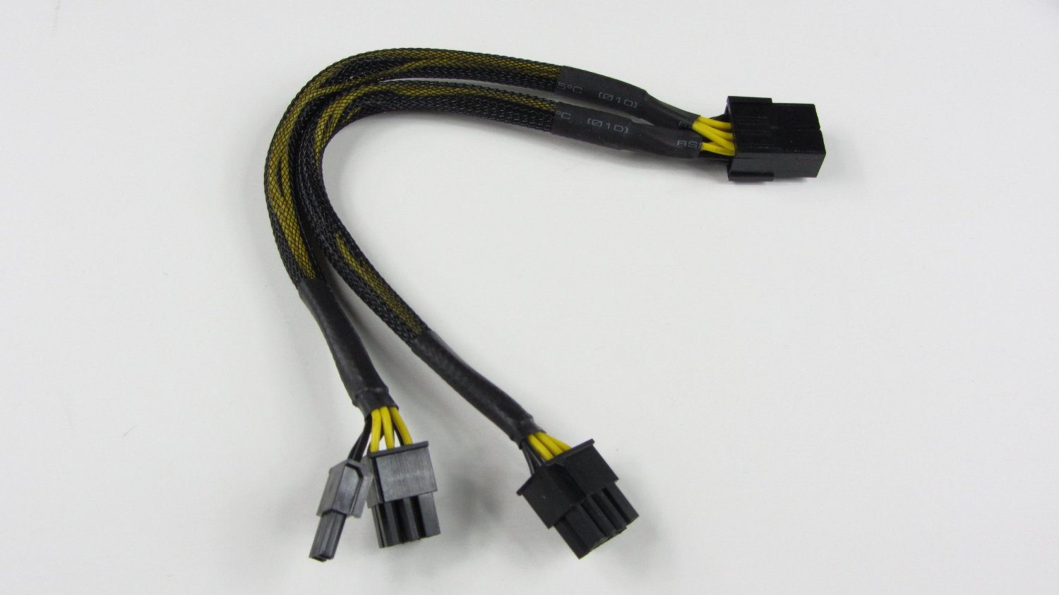 T320 Bigstair Pcie 8 Pin Wiring Diagram Pci Express To Dual 6 2 Video Card Y Splitter Adapter Power Supply Cable