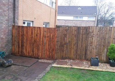 Storm Damage Fence Repair