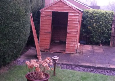 Old Shed Removal