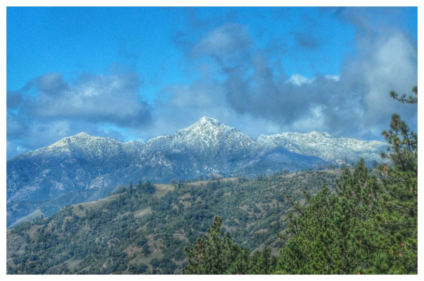 Big Sur Snow Photos, 1/31/16