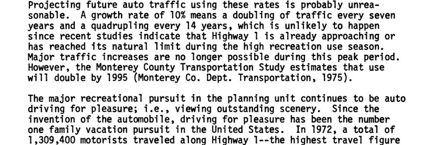 Fascinating Reading on Big Sur Land Use by the Los Padres Nation Forest, 1977